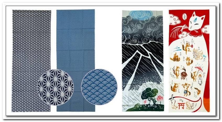 Bettw?sche Japanische Muster