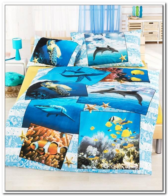 Bettw?sche Mit Meerestieren