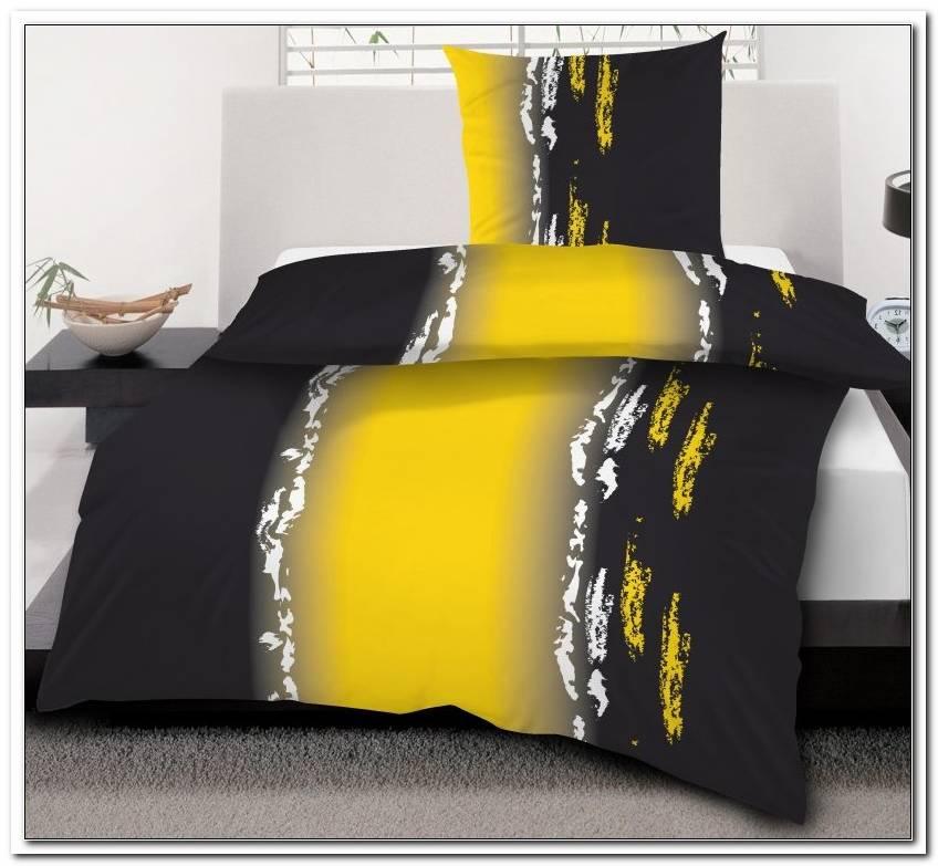 bettwsche schwarz gelb