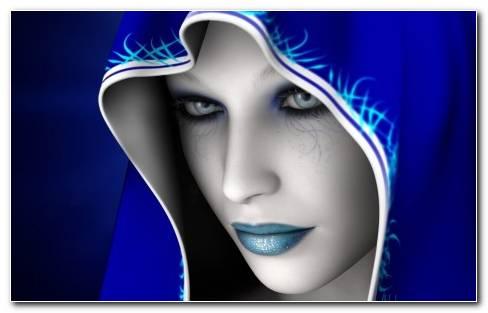 Blue Dream Fantsy Girl