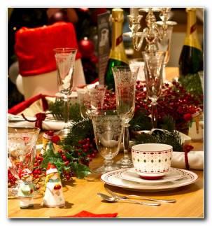 Cena Navidad Recetas Invitados Mesa