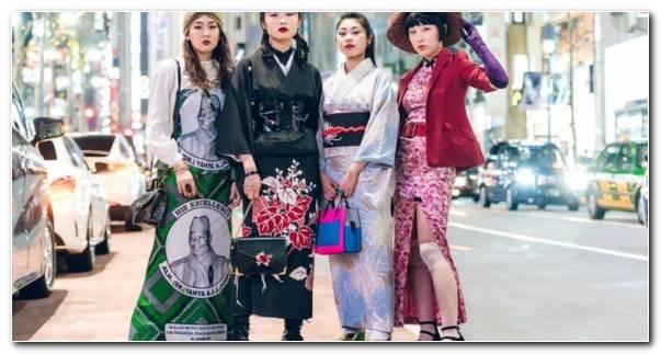 Chicas Moda Tokyo Semana Moda 2019