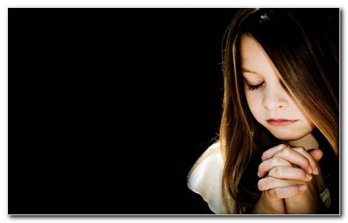 Cute Child Praying
