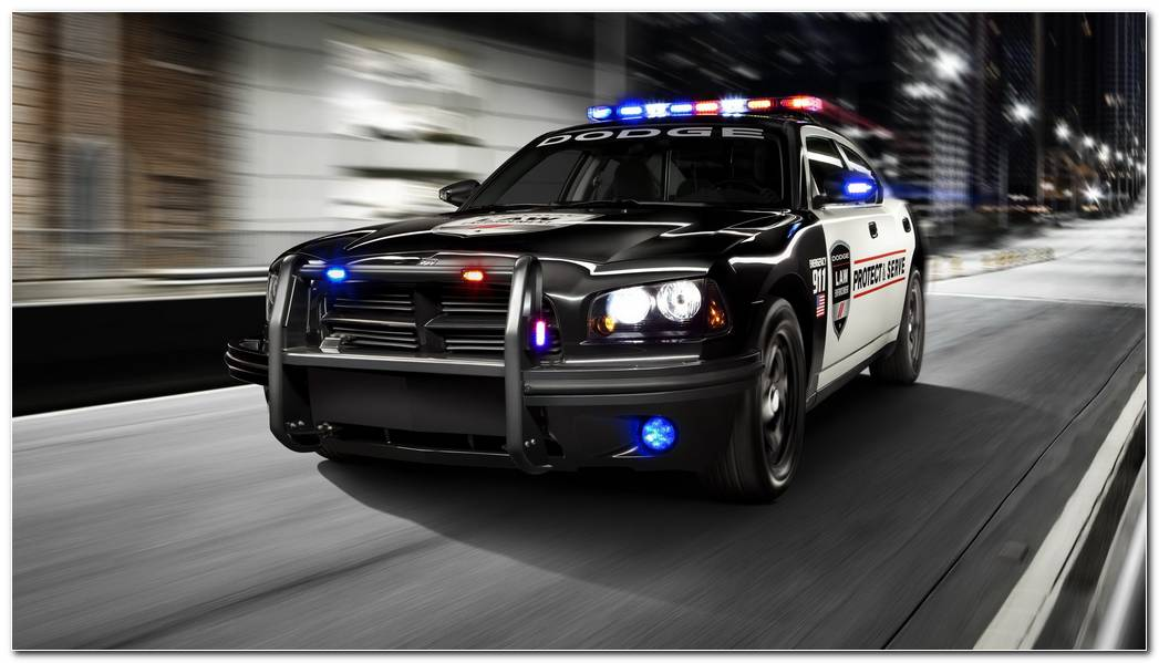 Dodge Charger Police Car Wallpapers 2048x1152