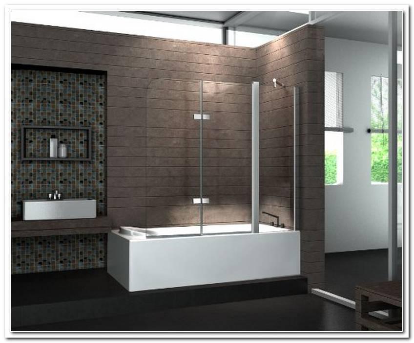 Duschabtrennung Duschwand F?r Badewanne Aus Glas