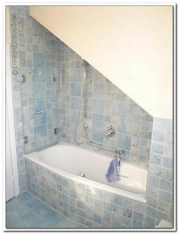 Duschabtrennung F?r Badewanne In Dachschr?ge