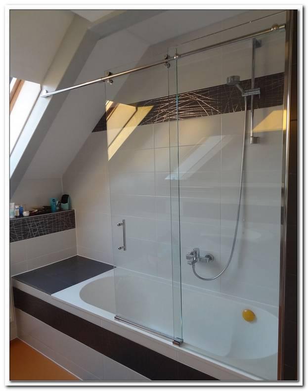 Duschabtrennung F?r Badewanne Zum Schieben