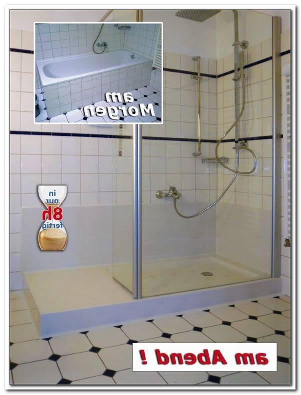 Dusche Statt Badewanne Einbauen Kosten