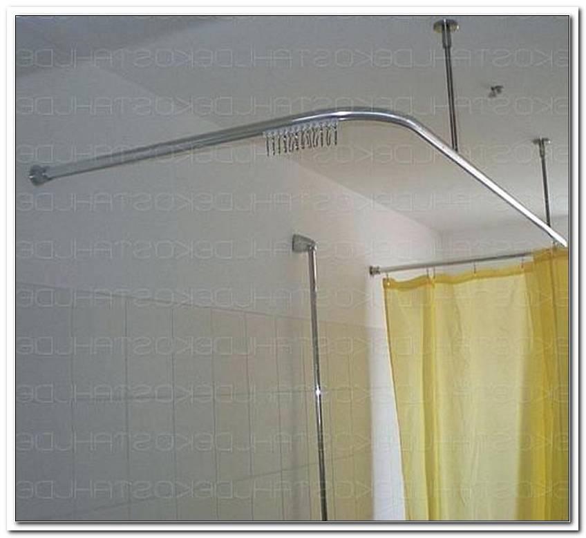 Duschvorhangstange Badewanne U Form
