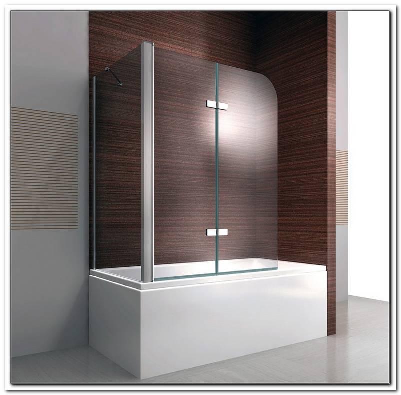 Eck Duschabtrennung Badewanne Glas