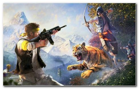 Far Cry 4 2014 Wide