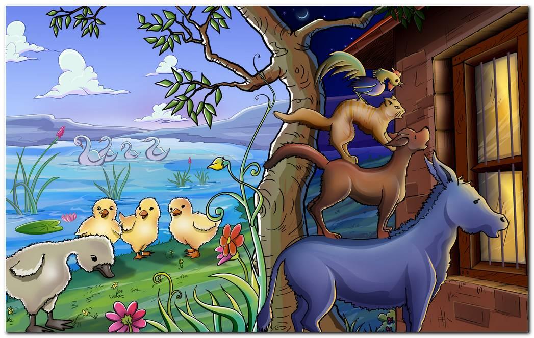 Farm Animals Hd Wallpaper