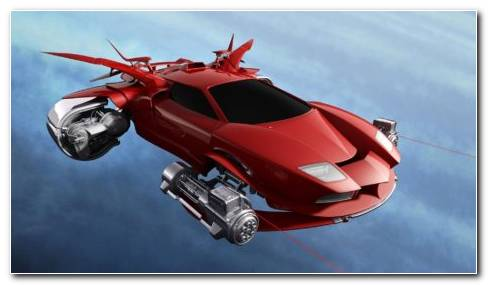 Flying Car Digital Art Hd Wallpaper