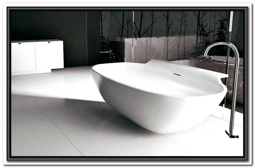 Freistehende Acryl Badewanne Einbauen
