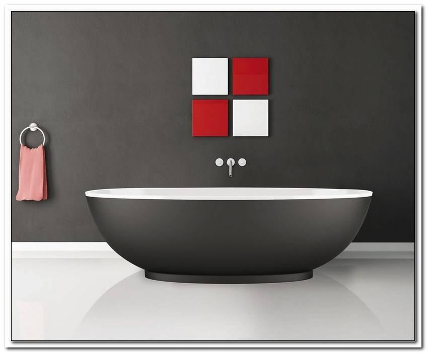 Freistehende Badewanne Farbig