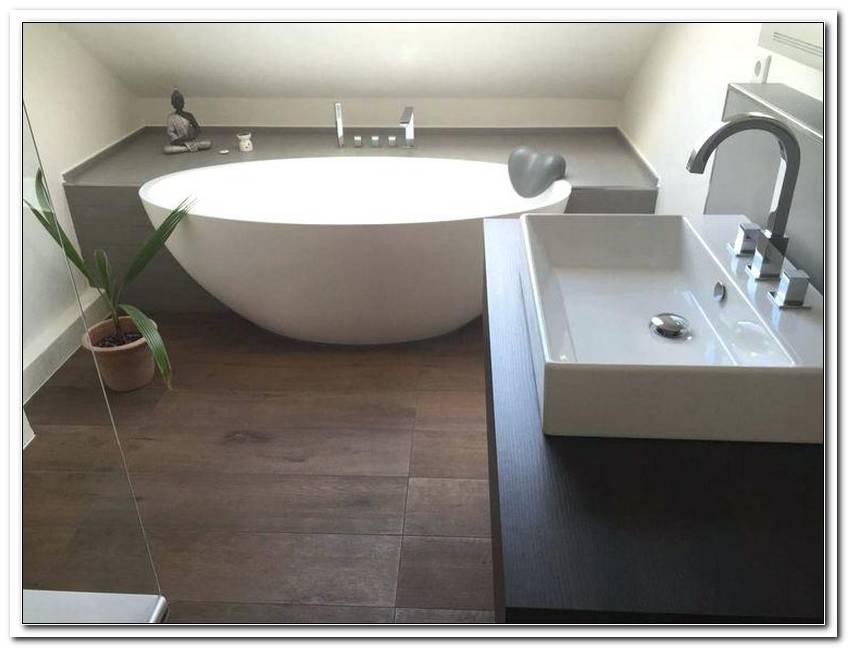 Freistehende Badewanne Halb Eingemauert