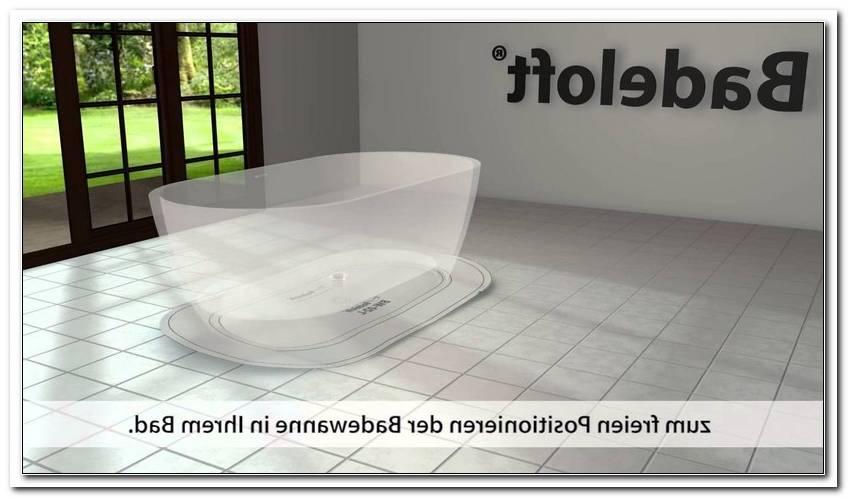 Freistehende Badewanne Montieren