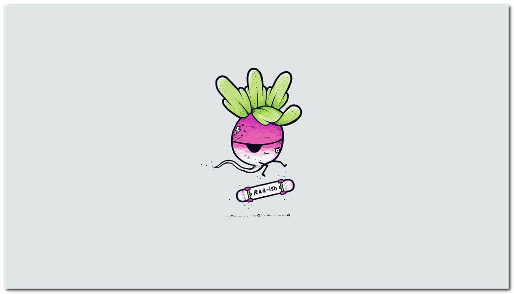 Funny Radish Hd Wallpaper