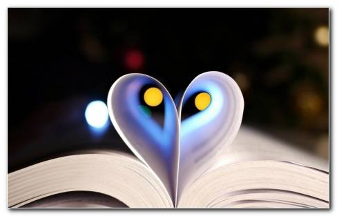 Heart In The Pages Hd Wallpaper