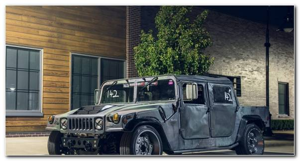 Hummer Moderno Modificado Custom 580x300