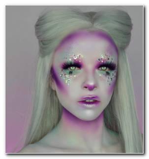 Ideas Originales Maquillaje Mujer Bella