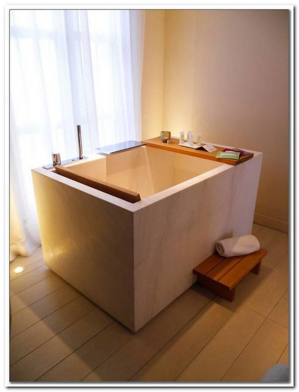 Japanische Badewanne Holz