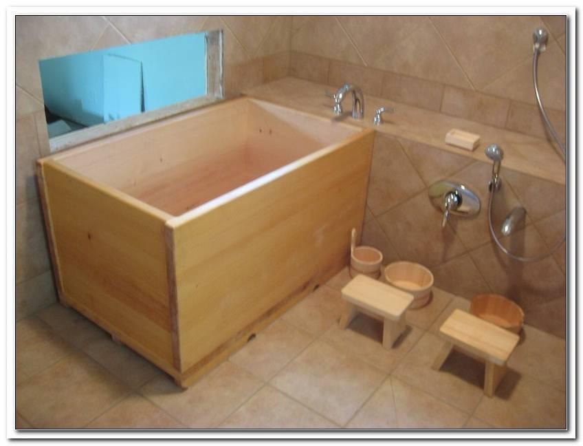 Japanische Badewanne Ofuro