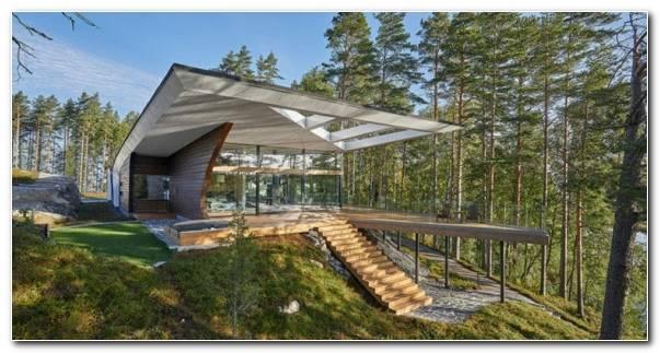La Arquitectura Bosque Rodeando Casa 580x300