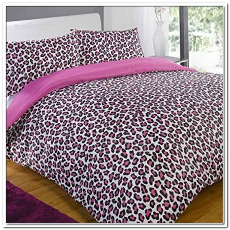Leoparden Bettw?sche Pink