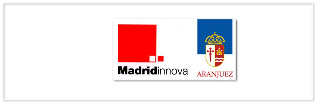 Logo Madrid Innova Ayto Aranjuez