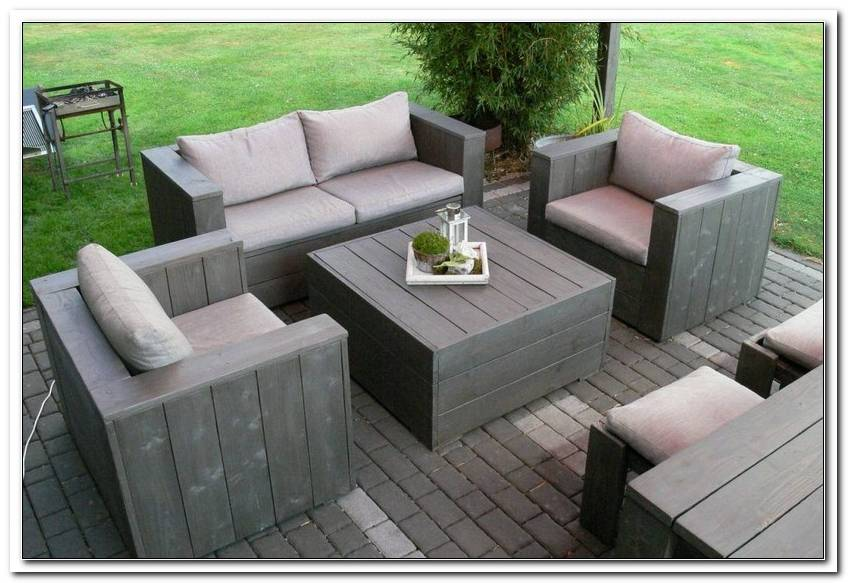 Lounge Gartenm?bel Holz Selber Bauen