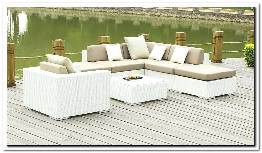 Lounge M?bel Weiss Outdoor