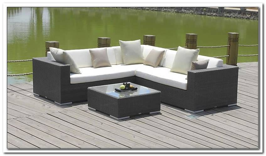 Loungem?bel Outdoor Anthrazit