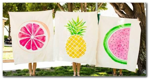 Mantas De Picnic Frutas
