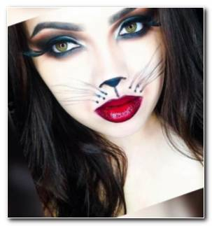 Maquillaje De Fantasia Para Halloween Gata Resized