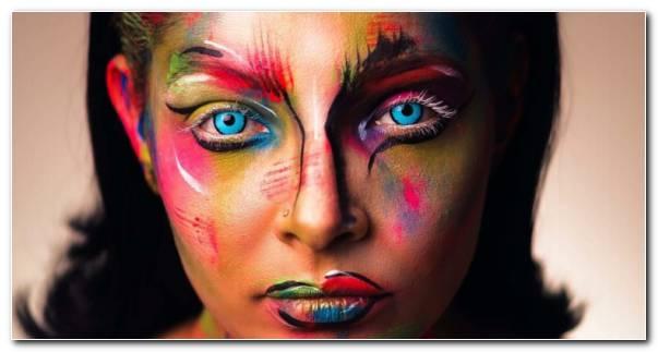 Maquillaje Inspirado Cuadros Colores