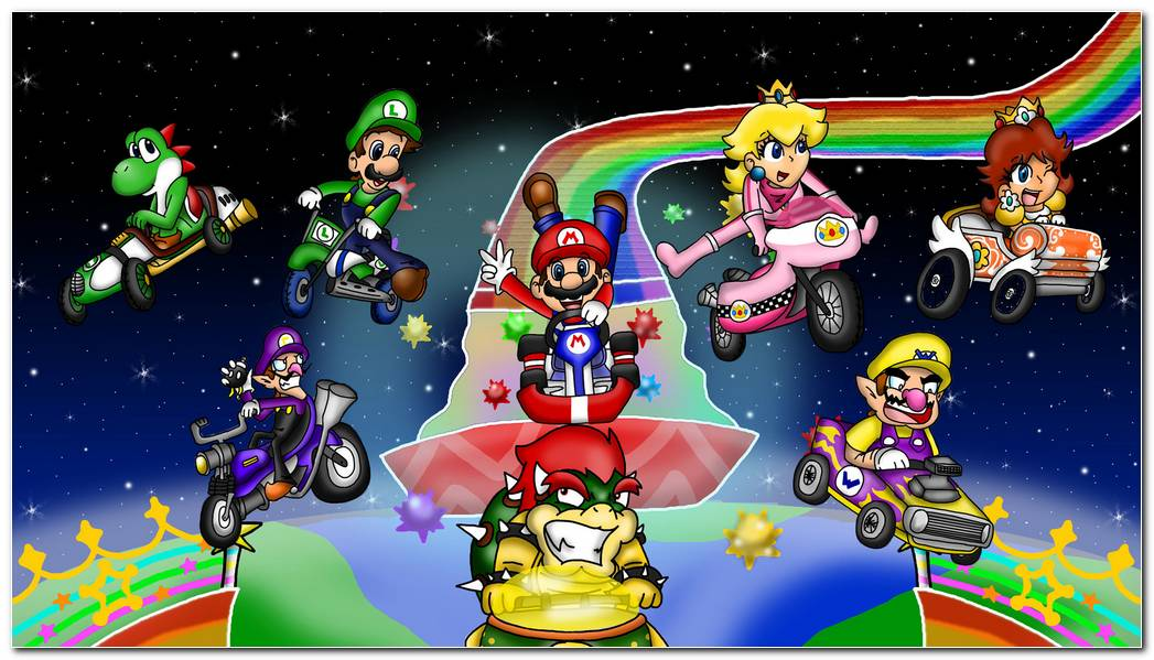 Mario Kart Hd Wallpaper