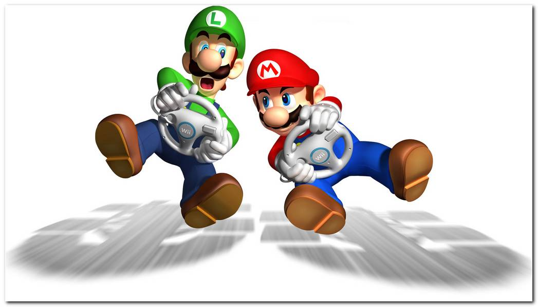 Mario Kart Video Game Hd Wallpaper