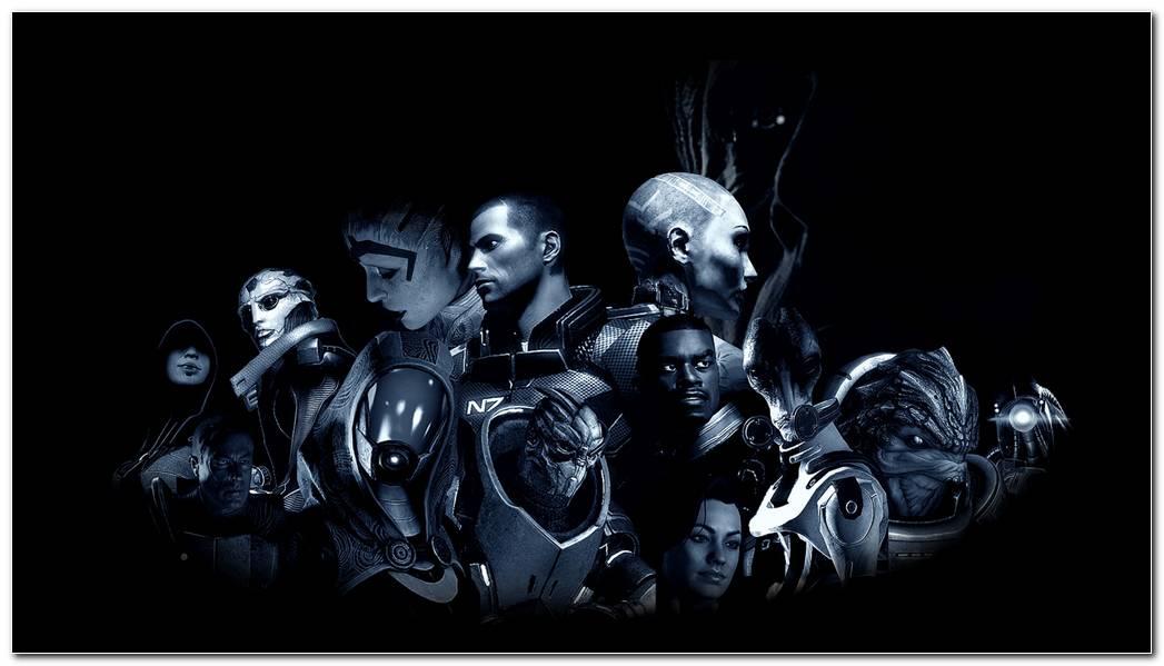 Mass Effect Game Hd Wallpaper