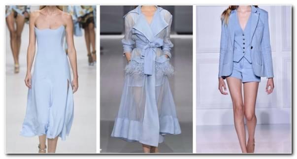 moda para mujer colores ideas azul cielo ideas