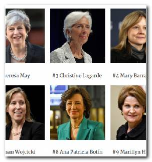 Mujeres Poderosas Lista Forbes