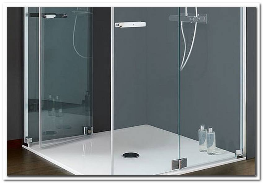 Optima S Badewannen Glaswand