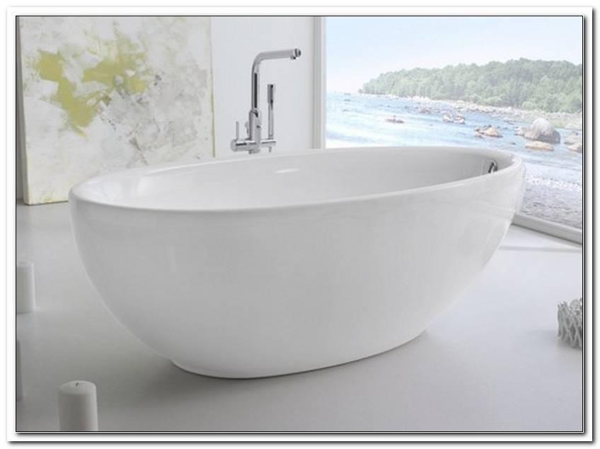 Ovale Badewanne Freistehend