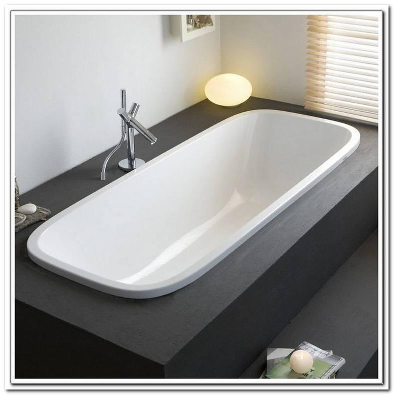 Ovale Einbau Badewanne