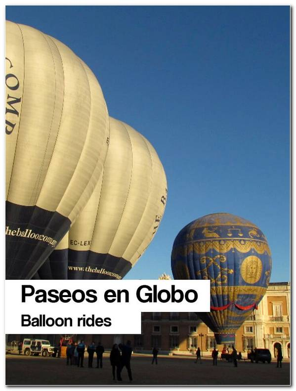 Paseos Globo