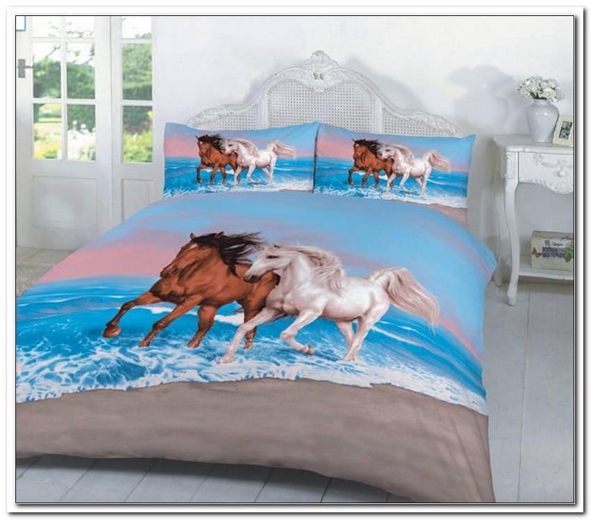 Pferde Bettw?sche Mit Rei?verschluss