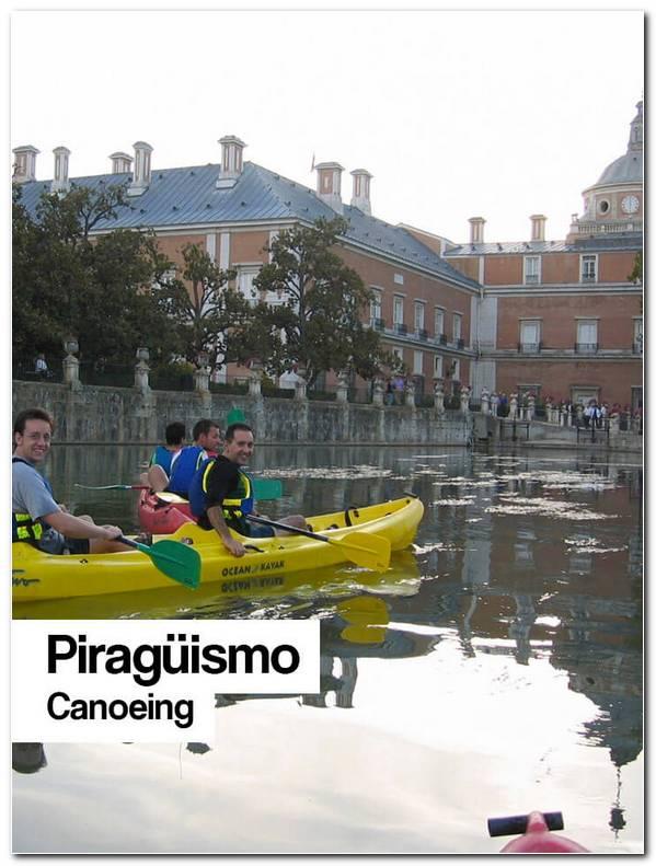 Piraguismo Aranjuez