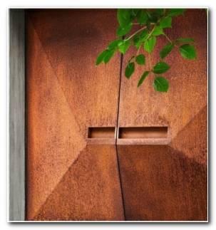Puertas De Entrada Principal Geometrica 280x300