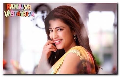 Ramaiya Vastavaiya Actress Shruti Haasan.psd