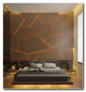 Revestimiento Paredes Interiores Madera Dormitorio
